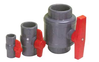 PVC コンパクトボールバルブ